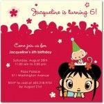 Ni Hao Kai Lan party invitation