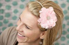 DIY flower headband using Making Memories InvisiCut and Slice Fabrique    www.whyslice.com
