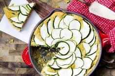 Skillet Cornbread Zucchini