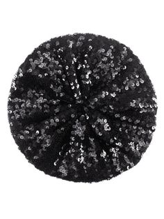 H Sequined Beret