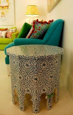 inspiration for patterns....side table