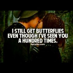ha..until the butterflies die