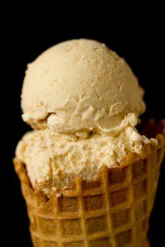 Apple Pie Ice Cream by Brown Eyed Baker
