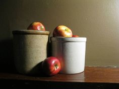 Crocks and Apples from JEFrantz at wet canvas