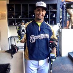 Jean Segura Bobblehead Day at Miller Park! #Brewers