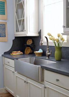 apron front sink on pinterest copper kitchen sinks farmhouse