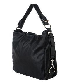 Buckled Shoulder Bag