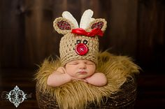 Christmas photo idea for Baby