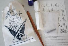 Perfect for a DIY'er: Calligraphy Starter Kit. $35.00, via Etsy. (see more at: http://www.designsponge.com/2012/11/2012-ds-gift-guides-for-diy-fans.html)