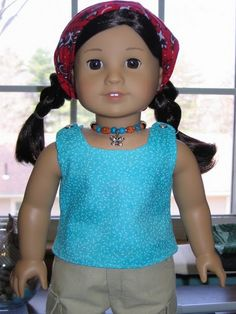 Reversible American Girl tank top (use fat quarters + free pattern)
