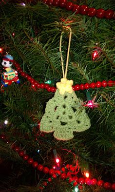 Crochet Granny Christmas Tree - Tutorial ❥ 4U // hf