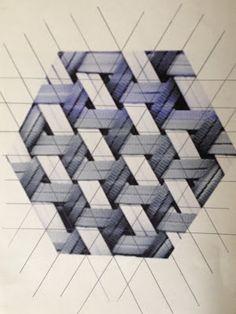 triangle basket weaving patterns - Google Search