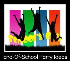 Lots of great ideas for planning an end of the school year party to help kick off summertime!