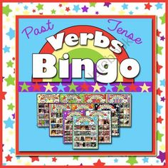 Past Tense Verbs Bingo - Mega Resource for Speech Therapy from TheSpeechstress on TeachersNotebook.com -  (89 pages)  - A fun, comprehensive speech therapy/ESL resource for teaching English past tense verbs.