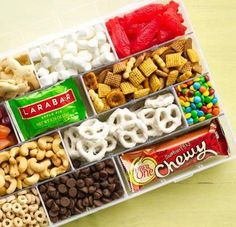 Road Trip Snacks---these would be perfect for survival packs! just be aware of expiration date.