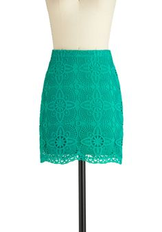 super cute! Love the teal lace