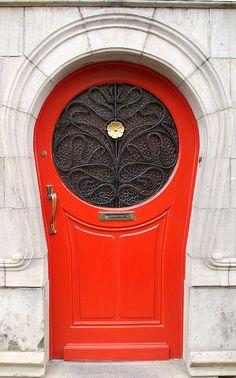 Art Nouveau door #COTM