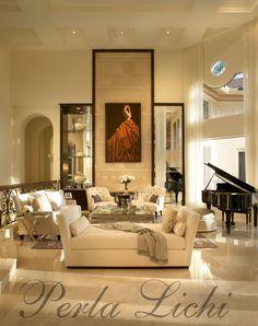 Perla Lichi Residential Interior...love her!