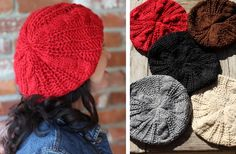 Super Soft Fall Hats! 5 Great Colors! 60% off at Groopdealz