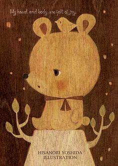 Cute bear by hisanori yoshida