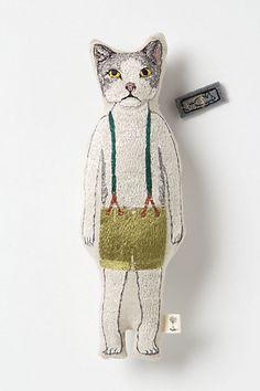 Critter Pocket Doll #anthropologie