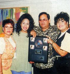 """""""When my dad first introduced us to Tejano music we were like, no you can't make us play it. There were times we would come in to practice and we would start crying, 'We don't wanna learn this music.' But we learned it and now that's all we listen to on the radio and we like to play it."""" - Selena"""