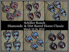 Schiller Ranch Diamonds & Dirt Barrel Horse Classic...shields of Logos , K94Cops, K94ids, Diamonds & Dirt Classic, Schiller Ranch