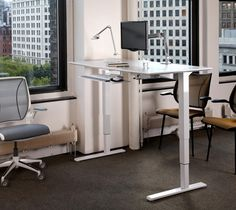 My dream desk. Adjustable so can be used as standing desk.