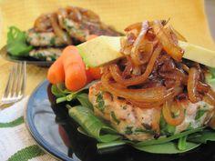 #paleo Herb Spinach Chicken Burgers