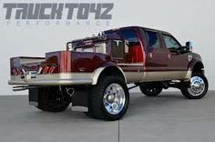 Custom lifted ford welding rig