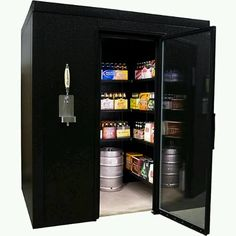 Brew Walk-In Cave Cooler...Perfect Addition To A Man Cave!
