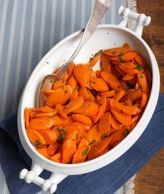 Honey and Lemon-Glazed Carrots