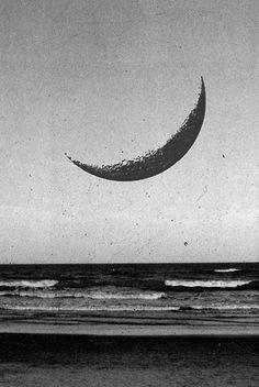 east coast, beaches, seas, coffee cups, moon art, crescents, dark side, blog, antiques