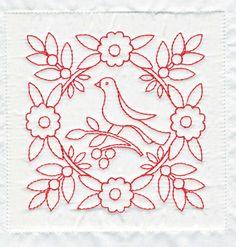 redwork quilt block sew, embroideri pattern, redwork quilt, quilts, stitch, block quilt, quilt blocks, quilt redwork, red work