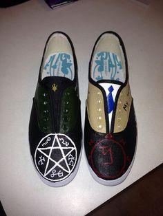 Destiel shoes o_O