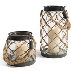 Nautical Rope Lanterns