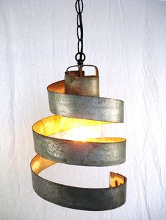wine barrel light