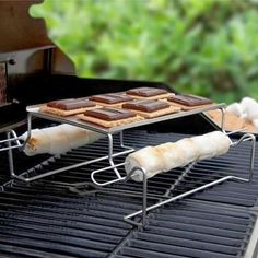 Camping equipment for cooking Smores (one of 15 odd camping gear gifts this festive season!)