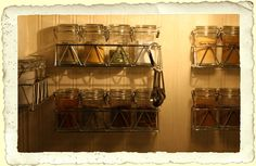 Frugal Fine Living: Spice Storage  This is close to what I want