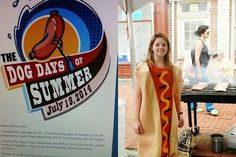 Who's Got the Most Creative Hot Dog Toppings in #Philly? Tinsel & Tine (Reel & Dine): Philly Dog Days of Summer Hot Dog Cook-Off RECAP