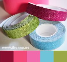 Glitter Tape Color I