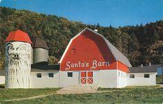 Santa's Barn & Silo - Hope, New Jersey