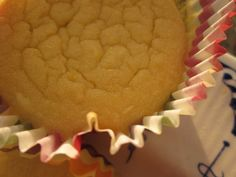 Lemon Coconut Flour Cupcakes ~ Grain & Sugar Free into the oven, gluten free, grain free, dairy free, sugar free (just stevia!) and high protein, high fiber, low carb and tons of staying power!! Found the cutest little cupcake papers from Paula Deen at Michael's (for less than $1 for 50!) and we determined to morph our growing body of coconut flour recipes into a cute little cupcake.