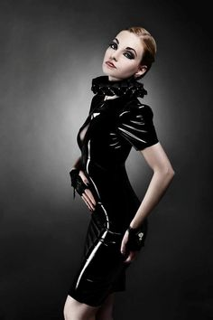 wwwpowerportraitsnl moodboard, latex dress, latex fetish