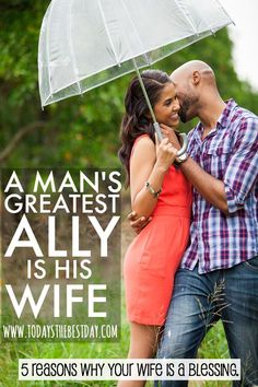 5 REASONS WHY YOUR WIFE IS A BLESSING - A Man's Greatest Ally Is His Wife