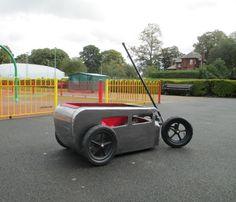Kids Hot-Rod Custom Cart. Built by Kenneth Waters @ Volkszombie VW Restorations in Carlisle, UK.