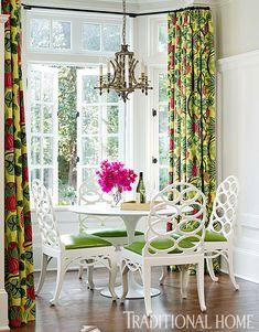 breakfast room | Katie Rosenfeld Design