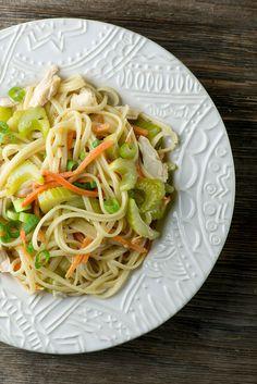 Chicken Noodle Salad - Framed Cooks