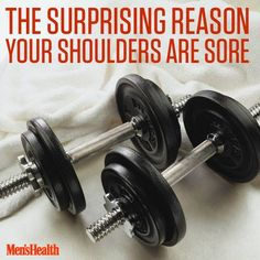 Follow this quick tip to stay off the disabled list and increase your upper-body strength. #strength #shoulders #workout #exercise #fitness http://www.menshealth.com/fitness/popular-exercise-messing-your-shoulders?cid=soc_pinterest_content-fitness_aug14_soreshoulders