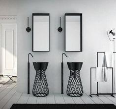 Wire Pedestal Sink by Hidra. #productdesign #industrialdesign #ID #design #sink